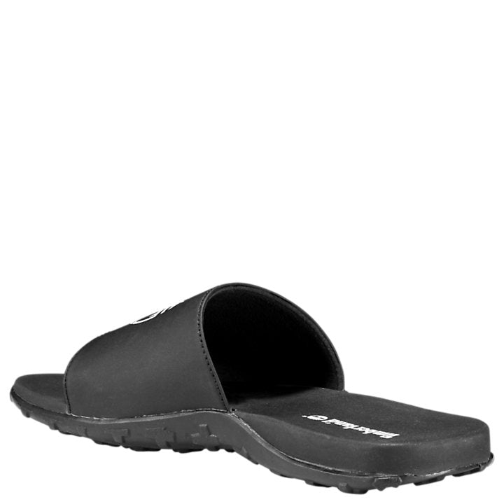 Timberland FELLS SLIDE Men's - BLACK WITH WHITE - Moesports