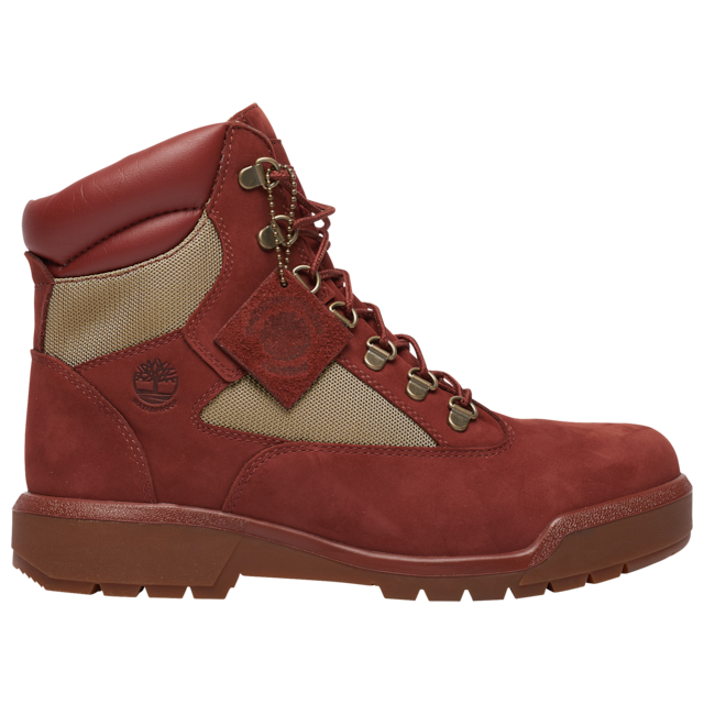 Timberland 6 IN WP L/F BOOT Men's - RUST NUBUCK