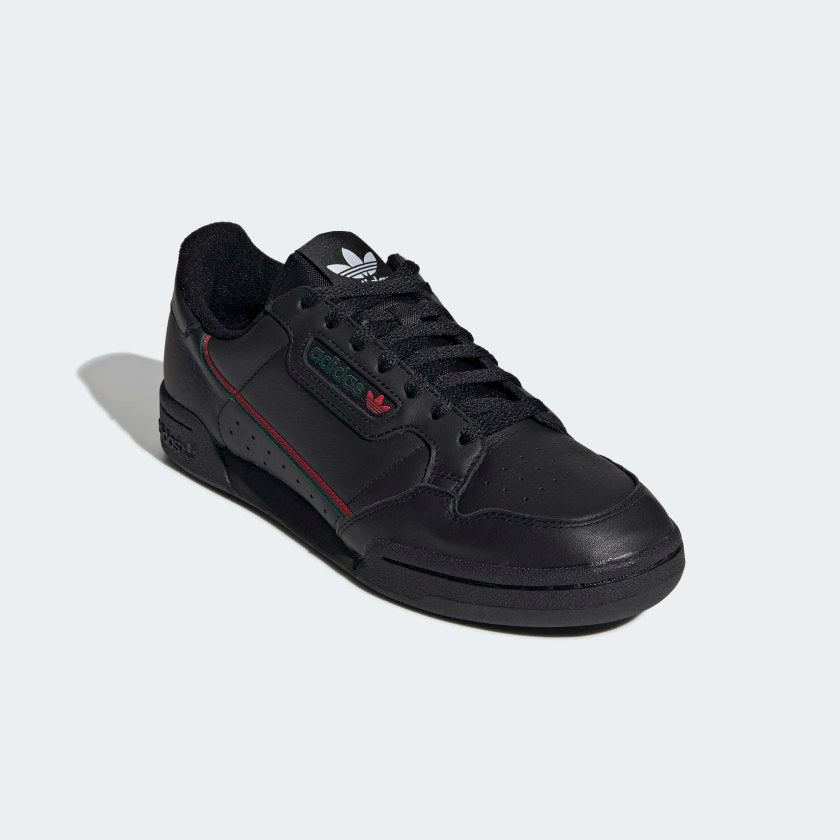 Adidas Original CONTINENTAL 80 Men's -BLACK/SCARLET/GREEN - Moesports