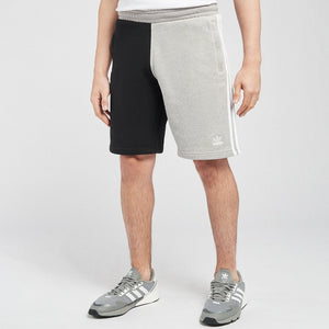 Adidas Original 3 STRIPE SHORT Men's -MEDIUM GREY HEATHER