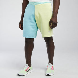 Adidas Original 3 STRIPE SHORT Men's - YELLOW TINT/HAZY SKY