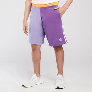 Adidas Original 3 STRIPE SHORT Men's -Purple/LIGHT