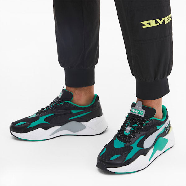Puma RS-X3 MERCEDES AMG Men's - TEAL GREEN-PUMA BLACK