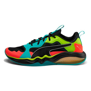 Puma Men's LQDCELL TENSION RASE- BLUE TURQUOISE-RED