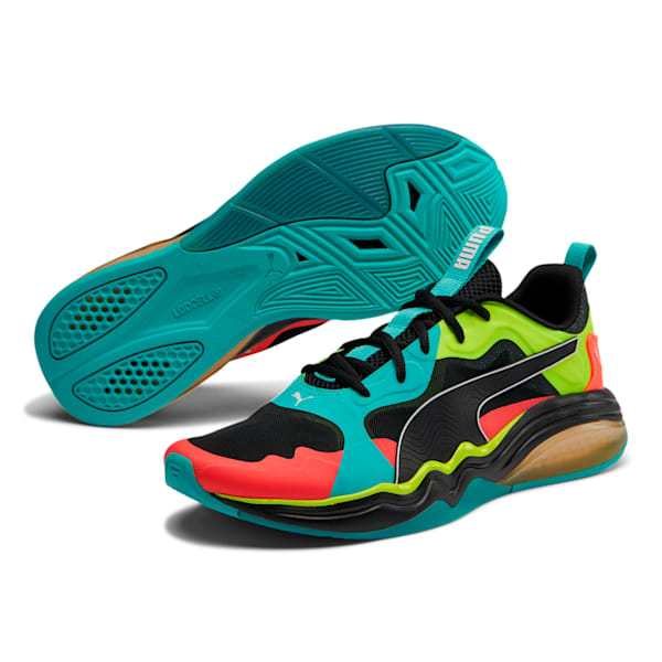 Puma Men's LQDCELL TENSION RASE- BLUE TURQUOISE-RED - Moesports