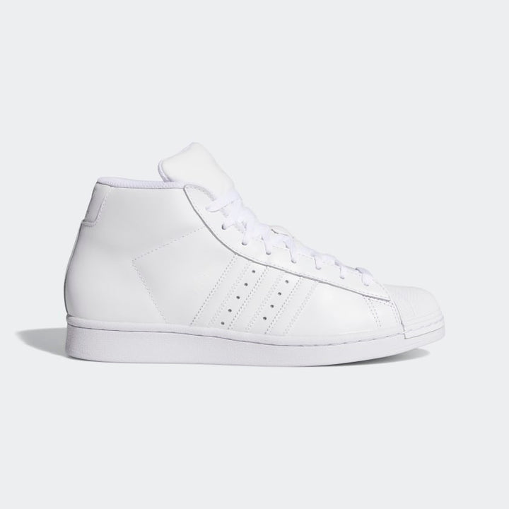 Adidas Originals PROMODEL MEN'S-WHITE/WHITE