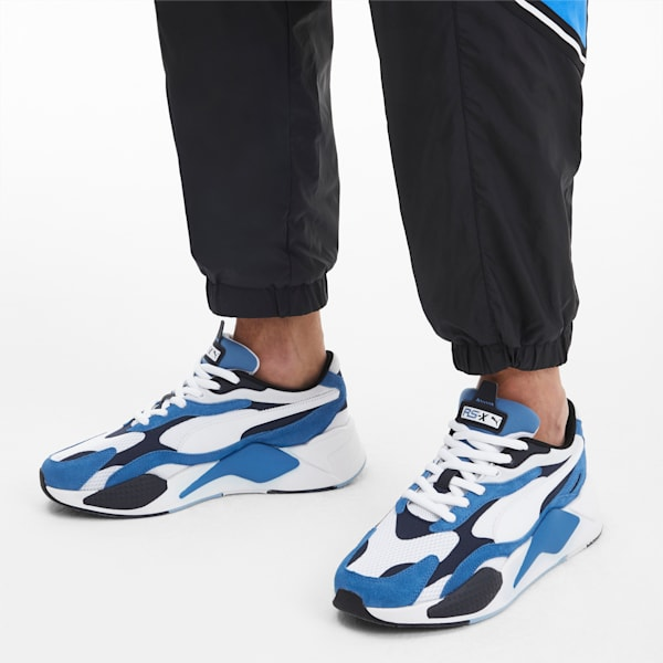 Puma RS-X3 PUZZLE Men's - PALACE BLUE-PUMA WHITE