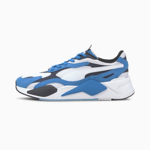 Puma RS-X3 PUZZLE Men's - PALACE BLUE-PUMA WHITE - Moesports
