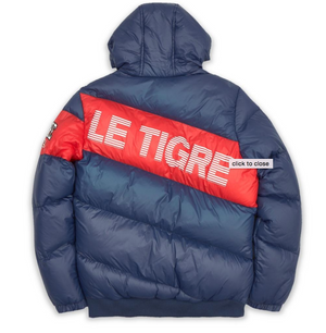 Le Tigre FINELY PUFFER JACKET Men's - NAVY/RED/WHITE - Moesports