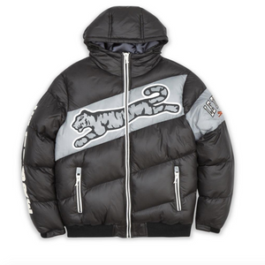 Le Tigre FINELY PUFFER JACKET Men's - BLACK/GRY/WHT - Moesports