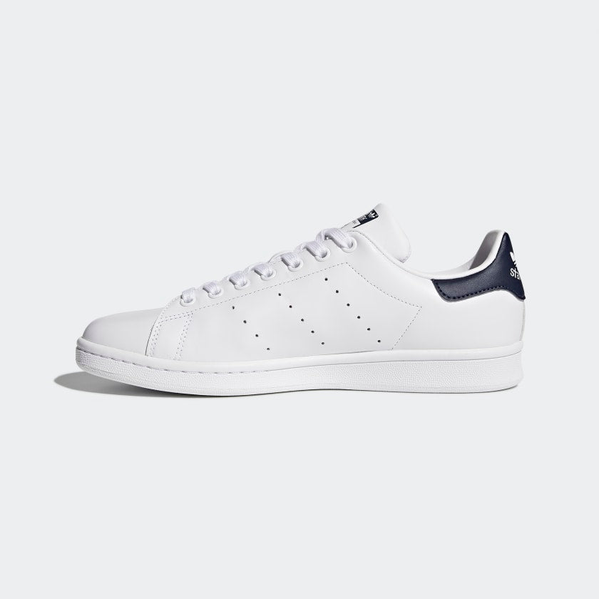 Adidas Original STAN SMITH Men's - White/Navy - Moesports