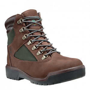 Timberland 6 IN FIELD BOOT Men's - BROWN/GRN