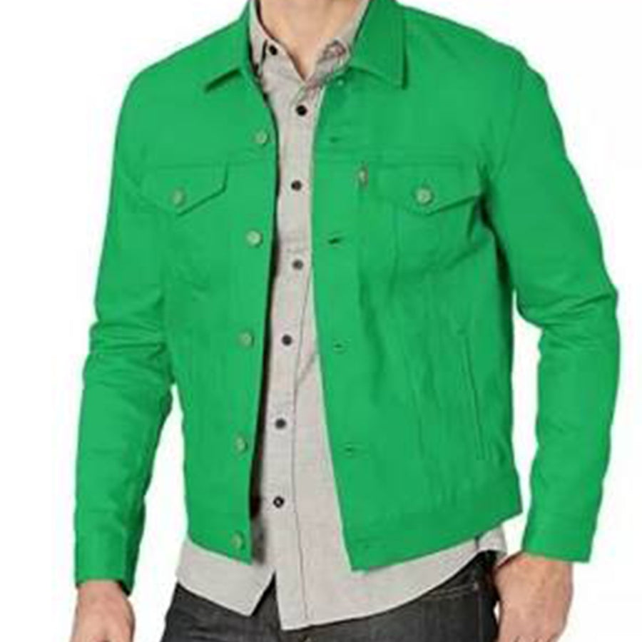 Levis Strauss & Co JACKET Men's - KELLY GREEN - Moesports