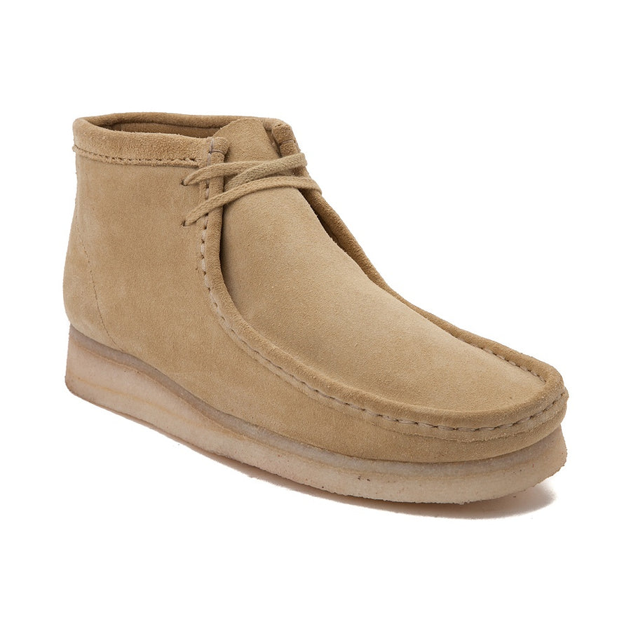 Clark's WALLABEE BOOT Men's - TAN LEATHER - Moesports