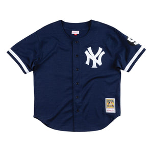 new arrival 3779a cadb5 Mitchell & Ness MLB AUTHENTIC BP BF JERSEY NEW YORK YANKEES ...