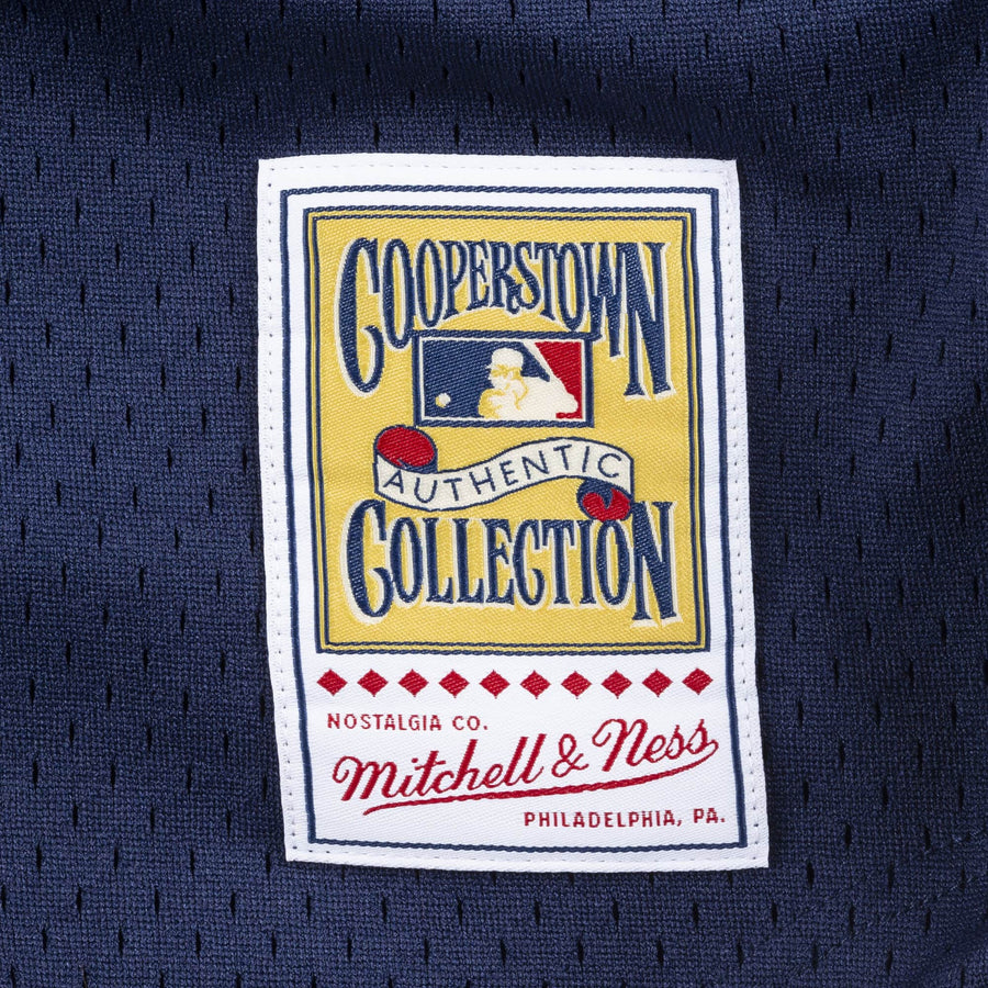Mitchell & Ness MLB AUTHENTIC BP BF JERSEY NEW YORK YANKEES Men's - NYYNAVY/WHT - Moesports