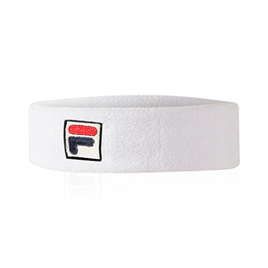 Fila  SOLID HEADBAND (6Pack) Men's - WHITE - Moesports