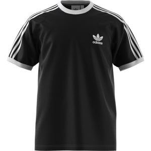 Adidas Original 3-STRIPES TEE Men's - BLACK/NOIR - Moesports