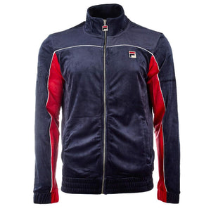 Fila CISCO VELOUR JACKET/PANT Men's - PEAC/CRED/WHT - Moesports