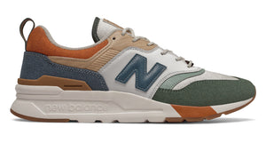 New Balance 997 SPRING HIKE Men's - BEIGE/OLIVE GREEN/ORANGE/NAVY - Moesports