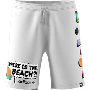 Adidas Original CM SWIMSHORT Men's - WHITE/BLANC - Moesports
