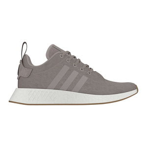 Adidas Original NMD_R2 Men's - VAPOUR GREY/VAPOUR GREY/TECH EARTH - Moesports