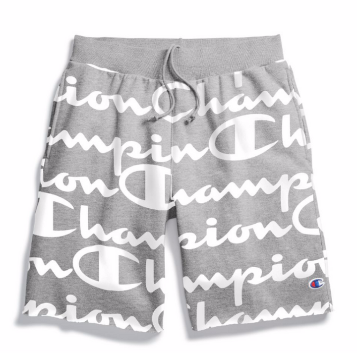 Champion GIANT CHP SC RW CUT OFF SHORT W P Men's - OXFORD GREY - Moesports