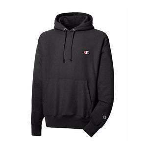 Champion RW FLEECE PO HOOD Men's - BLACK/WHITE - Moesports