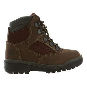Timberland 6IN F/L FLD BT Toddler's - DK BRN NB - Moesports