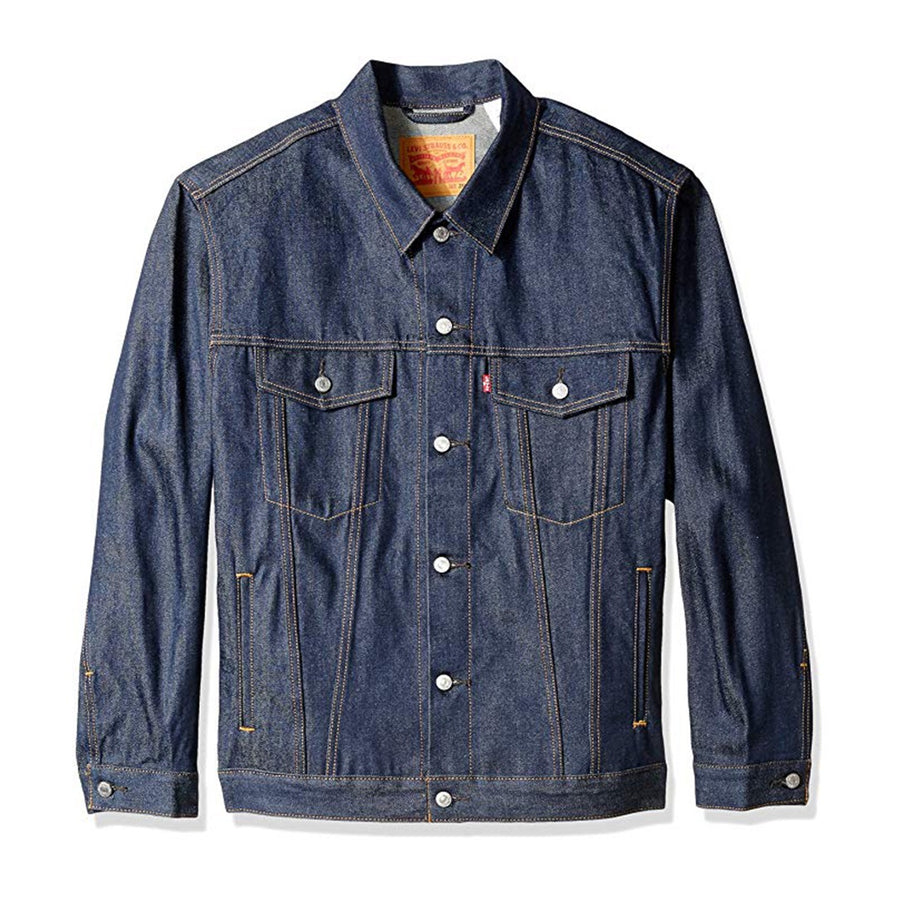 Levis Strauss & Co BIG & TALL JACKET Men's - VINTAGE DENIM BLUE - Moesports