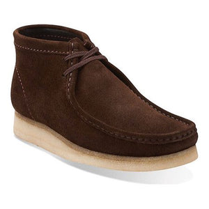 Clark's WALLABEE BOOT Men's - DARK BROWN SUEDE - Moesports