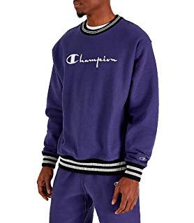 Champion PREMIUM  Yarn Dye SWEATSUIT Men's - BLUE APRON