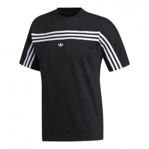 Adidas Original 3 STRIPE SS TEE Men's - BLACK/WHITE
