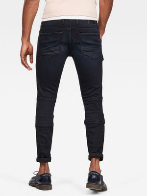 G-Star AIRBLAZE 3D SKINNY JEANS Men's - WORN IN BLUE STORM