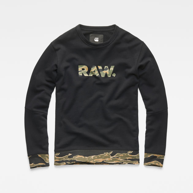 G-STAR RAW Tahire Stalt Deconstructed Sweater