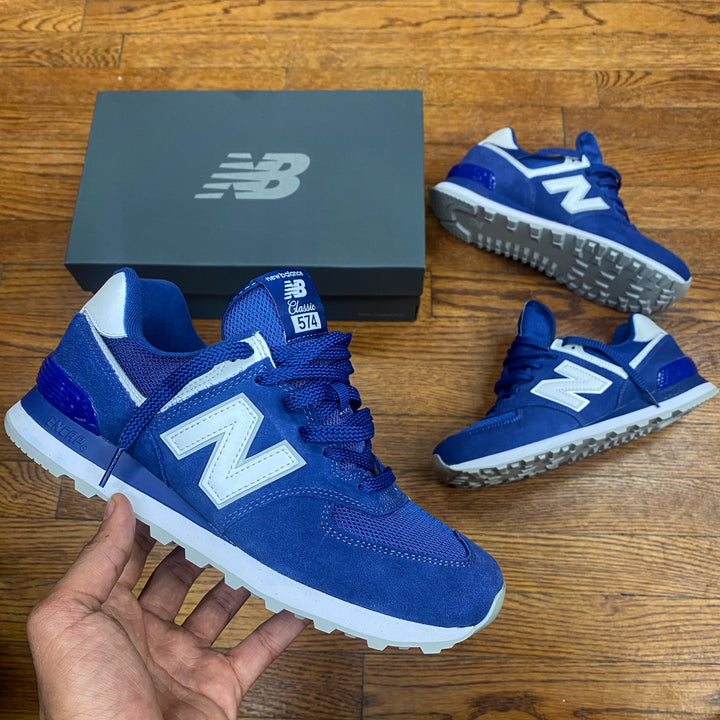 New Balance 574 Classics Men's - ROYAL BLUE GREY
