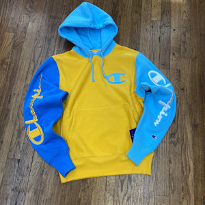 Champion REVERSE WEAVE HOOD B Men's - CITRUS/BLUEH - Moesports
