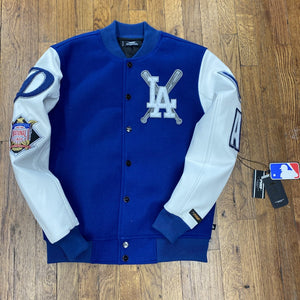 Pro Standard LUXURY ATHLETIC COLLECTION JACKET LA DODGERS Men's - BLUE/WHITE/GRAY - Moesports