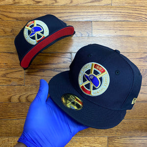 New Era WORLD SERIES YANKEE STADIUM 1961 RED BOTTOM Men's - NAVY/WHITE/RED/GOLD - Moesports