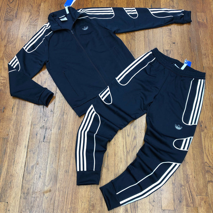 Adidas Original FLAMESTRIKE TRACK SUIT Men's - Navy/White - Moesports