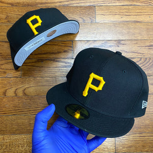 New Era Cap PIRATES FITTED CAP Men's - BLACK/YELLOW - Moesports