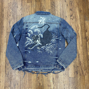 Cult of Indviduality TYPE II REVERSIBLE DENIM JACKET Men's - TIGER - Moesports