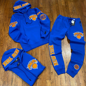 Pro Standard LUXURY ATHLETIC COLLECTION NEW YORK KNICKS ROYAL/ORANGE
