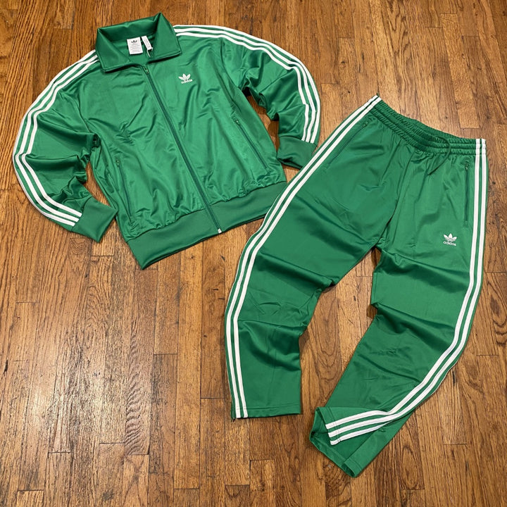Adidas Original FBIRD TT TRACKSUITS Men's - KELLY GREEN/WHITE