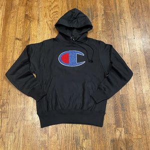 Champion RW FLEECE PO HOOD Men's - BLACK