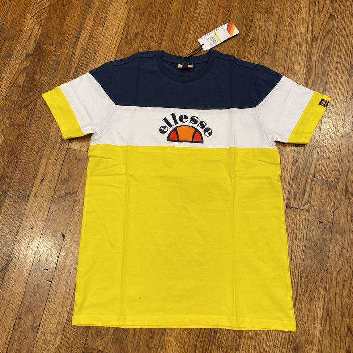Ellesse SEALY T-SHIRT Men's - YELLOW/NAVY/WHT