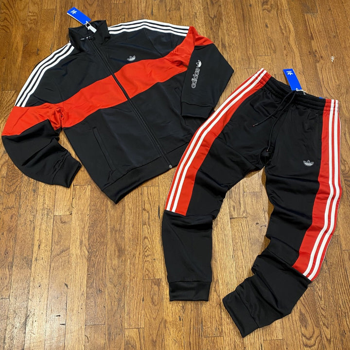 Adidas Original BX-20 TT TRACKSUIT Men's - BLACK/RED