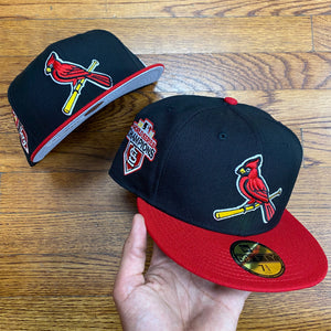 New Era Cap 5950 STCLAR 2011 WS FITTED Men's - BLACK/RED
