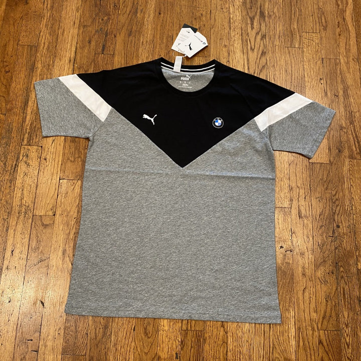 Puma BMW MMS MCS TEE Men's - MEDIUM GRAY HEATHER
