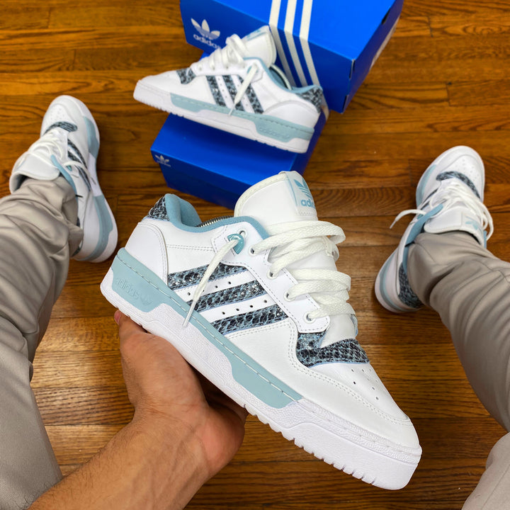 Adidas Original RIVALRY LOW Men's - FTWWHT/ASHGRE/FTWWHT - Moesports